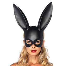 Leg Avenue óriás nyuszifüles maszk (fekete)