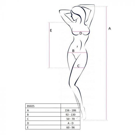 Passion miniruha, oldalt necc betéttel (fekete) S-L méret