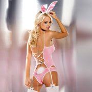 Obsessive rózsaszín nyuszi jelmez (E24001)
