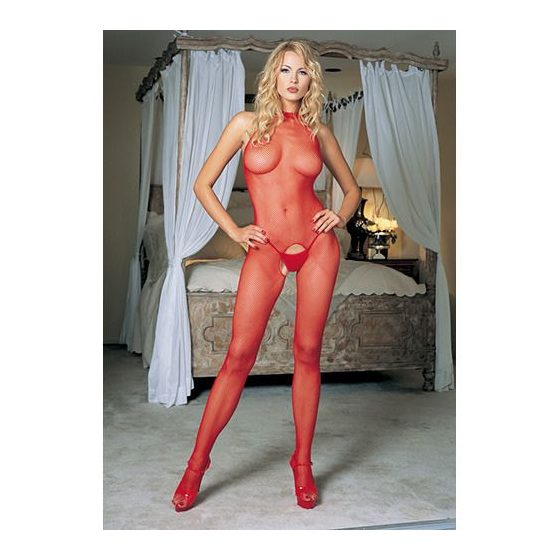 Leg Avenue nyakpántos, necc testharisnya (piros) S-L méret