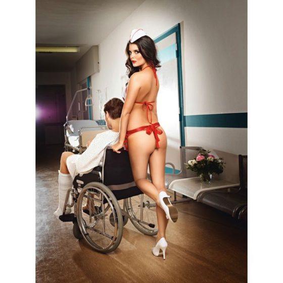 Baci Candy Nurse nővérke szett S-L méret