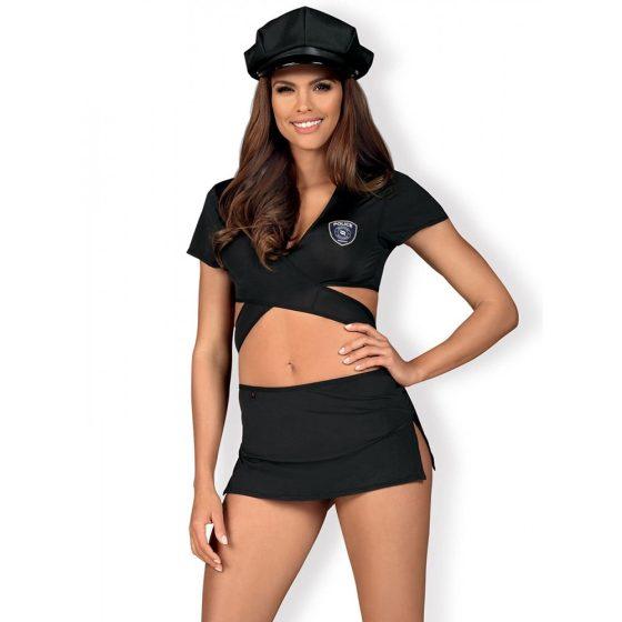 Obsessive rendőrlány jelmez S-M méret