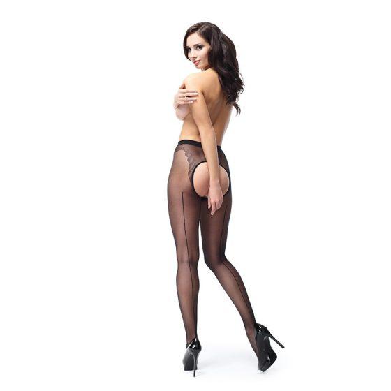 MissO szélesen nyitott harisnyanadrág (fekete) L-XL méret